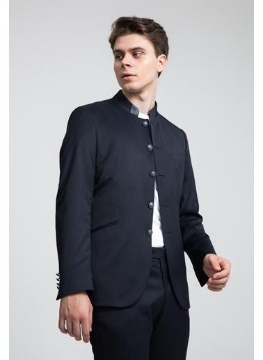TWN Slim Fit Düz Takım Elbise Lacivert